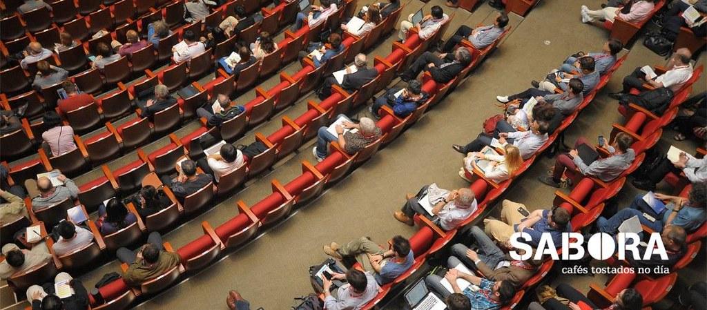 Sala de Conferencias durante un evento