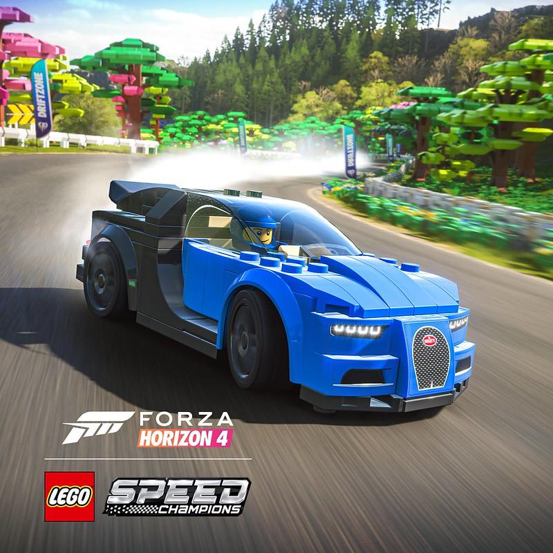 LEGO Speed Champions Forza Horizon 4 Bugatti