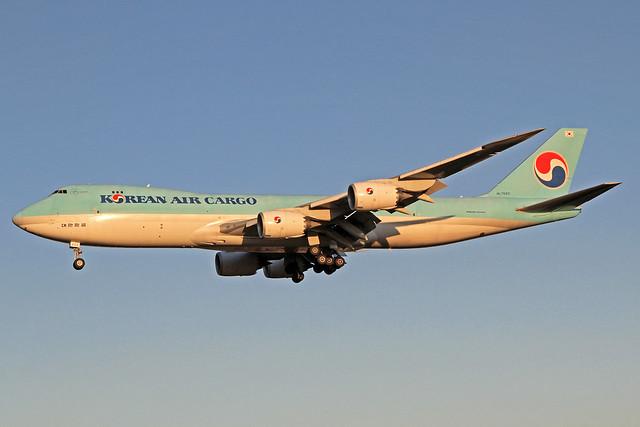 Korean Air Cargo Boeing 747-8B5F HL7623 NRT 04-12-19