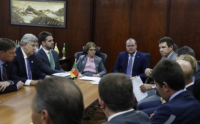 12/02/2020 Audiência Bancada Gaúcha Ministério da Agricultura