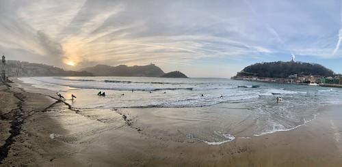 Playa  la concha donostia San Sebastián