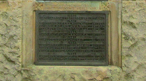 Marykirk War Memorial, WW2 Names