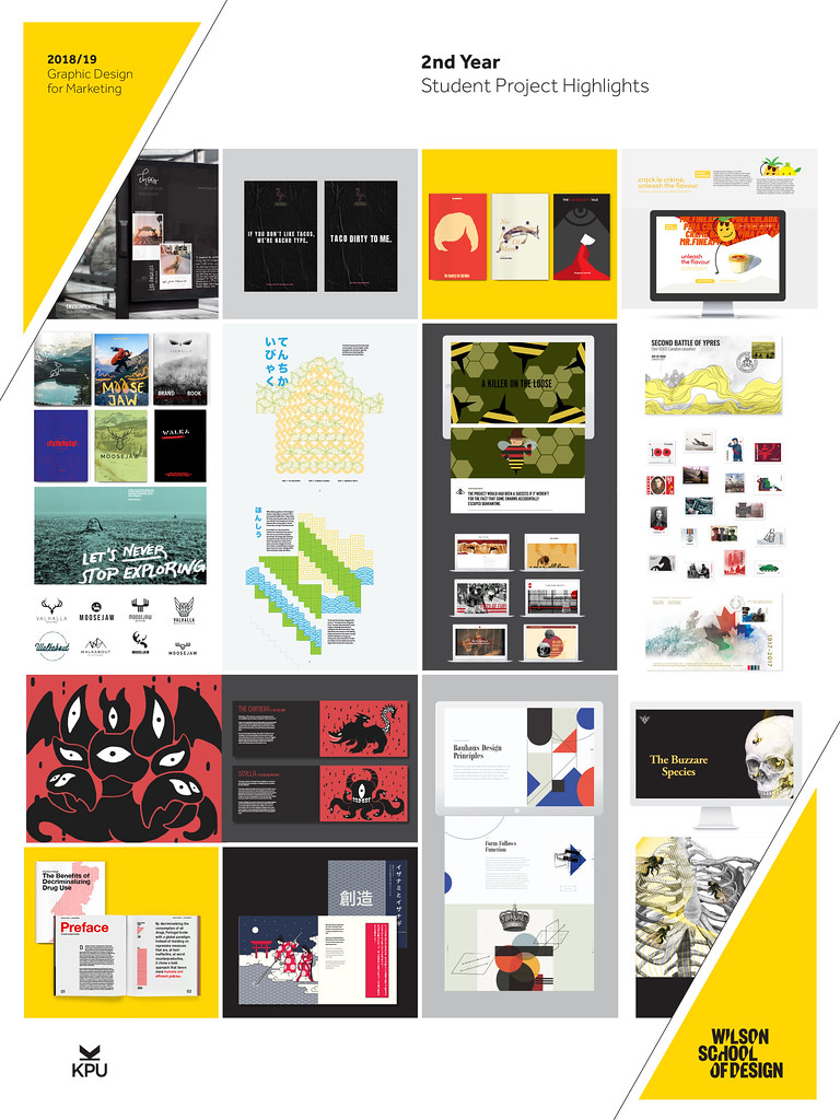 Graphic Design: Student Project Highlights