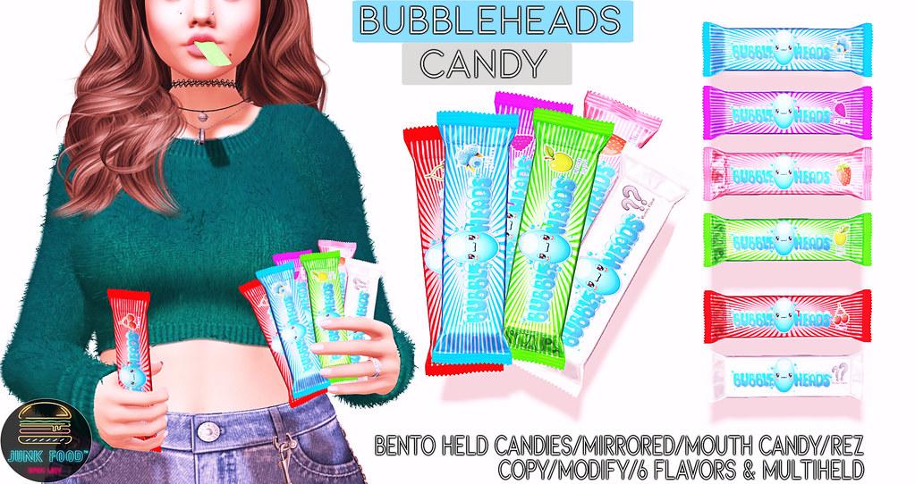 Junk Food – Bubbleheads Ad