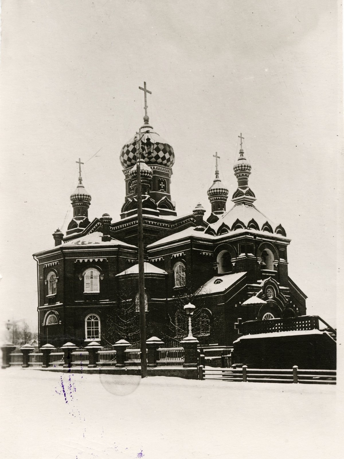 13. Церковь Благоверного Александра Невского.