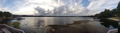 mountdora florida fl airbnb dock lake rental panorama panoramic