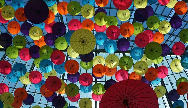Les parapluies de Laval