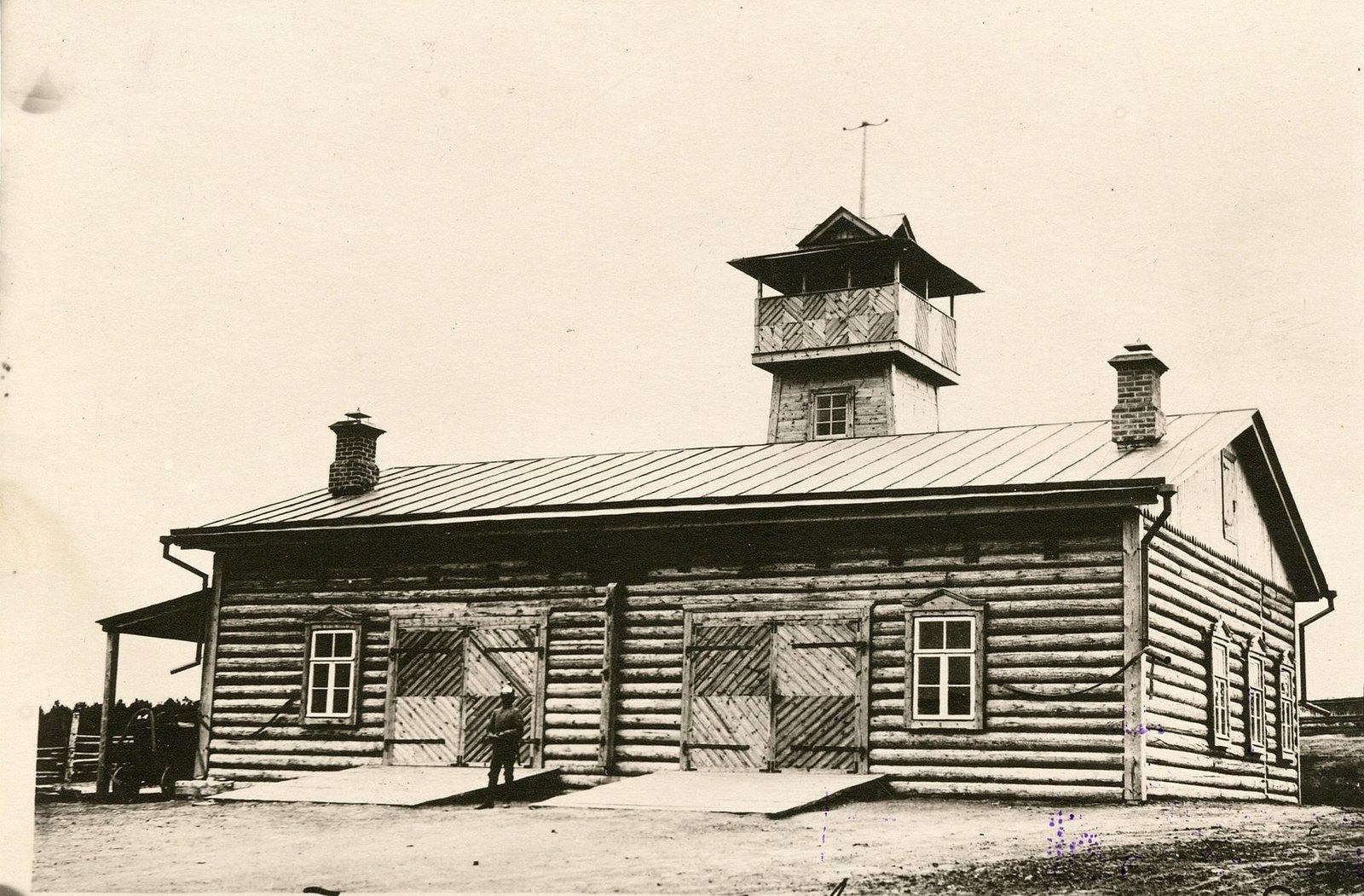 14. Пожарный сарай централа