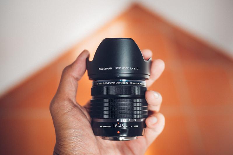 M.ZD 12-45mm f4.0 OLYMPUS