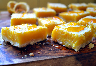 Lilikoi Bars aka Passion Fruit Bars is a Hawaiian play on the classic lemon bars recipe, made with tart and floral passion fruit juice.