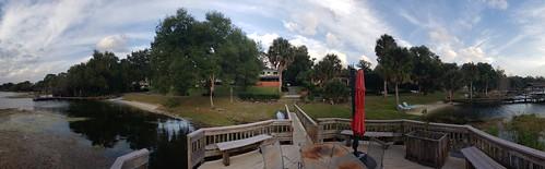 mountdora florida fl panoramic panorama airbnb rental architecture lake