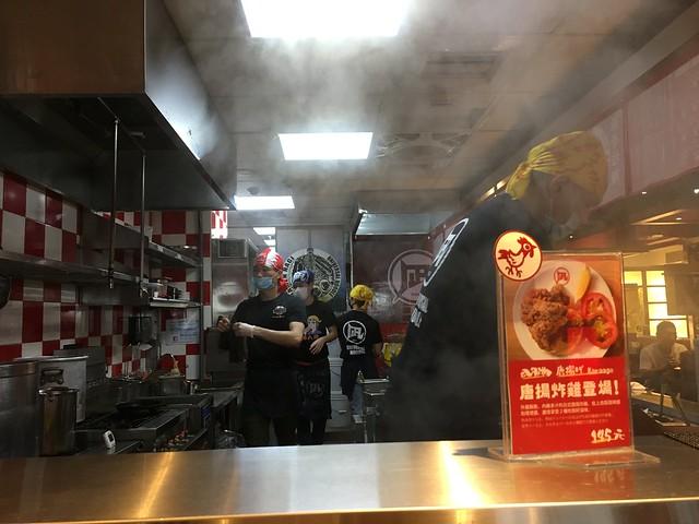 半開放式的廚房@凪Nagi拉麵西門店