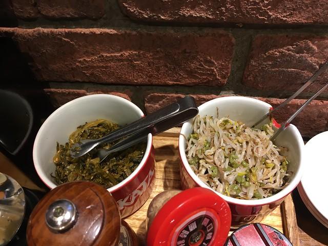兩種小菜@凪Nagi拉麵西門店