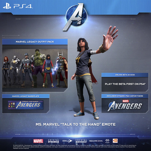 PlayStation Benefits, Editions, and Pre-order Bonuses Revealed for Marvel's Avengers – PlayStation.Blog