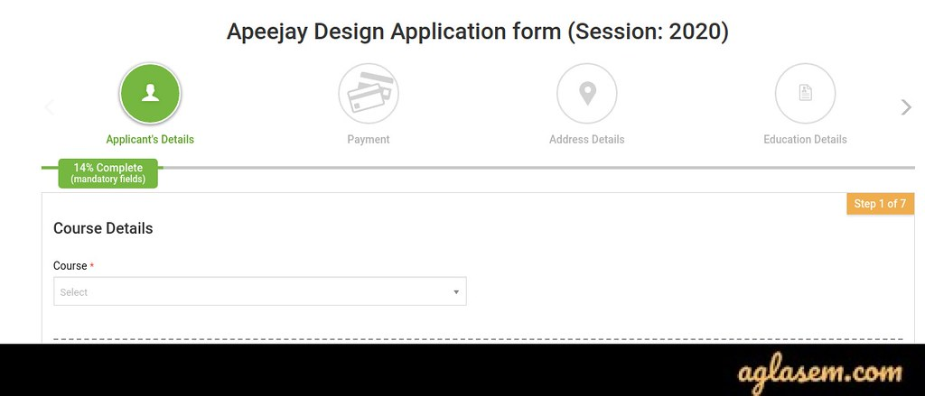 apply for Apeejay Institute of Design Admission 2020