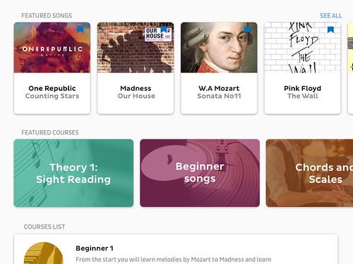 Skoove online piano courses