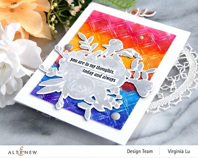Altenew-Dotted Diamonds-Virginia#7