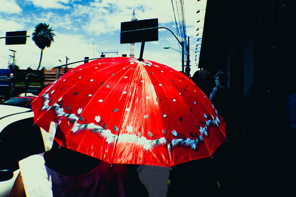 """Red Umbrella"" - Cuiabá, Mato Grosso, Brasil."