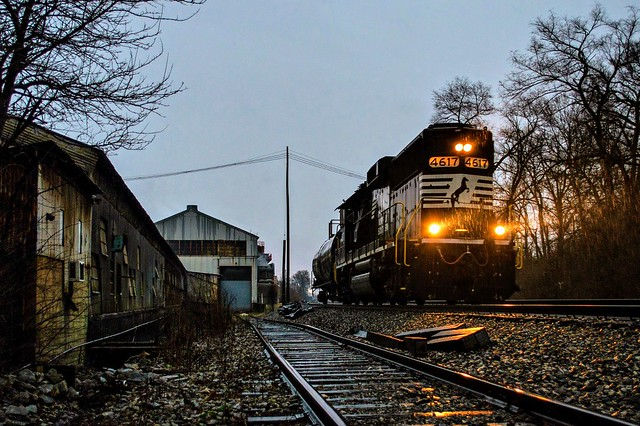 Rainy Day Blue Hour With NS T97