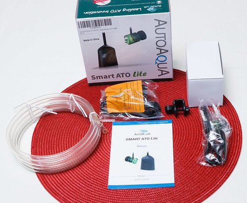 AutoAqua Smart ATO Lite Packaging and Components