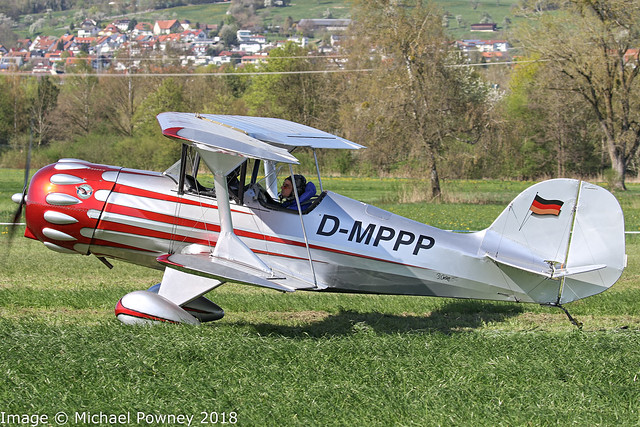 D-MPPP - Murphy Renegade Spirit, taxiing for departure at Markdorf during Aero 2018 at nearby Friedrichshafen