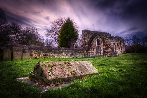 ruins church gloucester hdr 5xp d7100 graveyard cemetery
