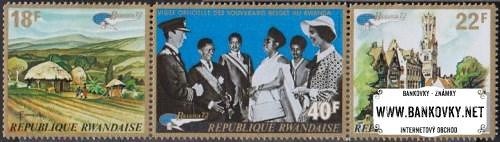 Známky Rwanda 1972 Výstava známok, nerazítkovaná séria MNH