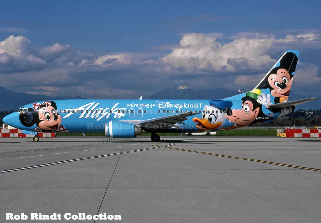 Alaska Airlines B737-4Q8 N784AS