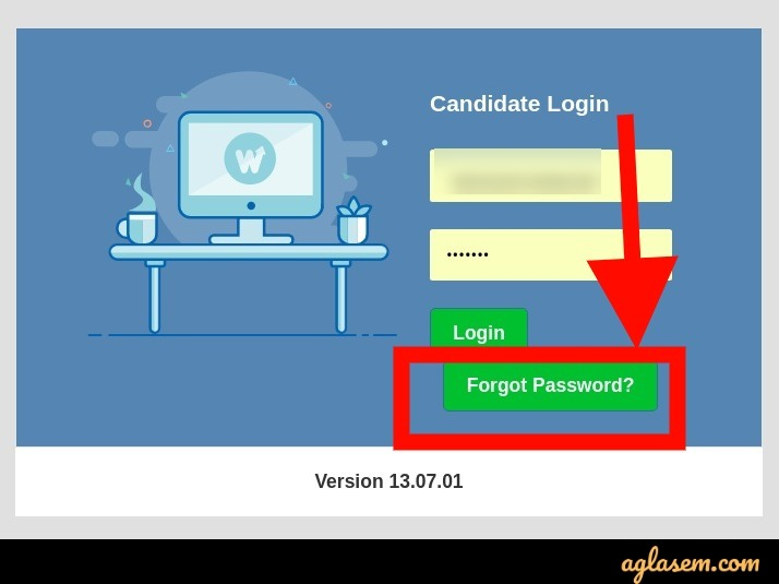 UP B.Ed JEE 2021 login password