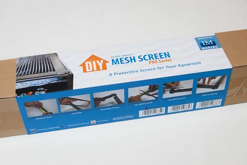Innovative Marine DIY Mesh screen kit for saltwater nano aquariums