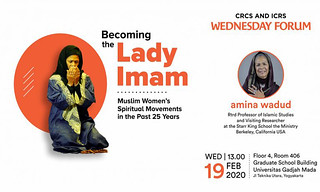 Becoming the Lady Imam: Muslim Women's Spiritual Movements in the Past 25 Years
