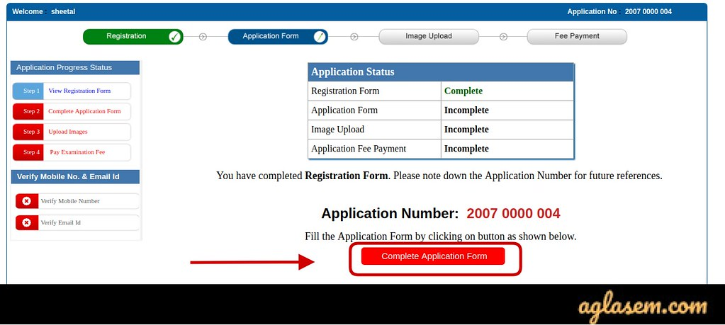 Application Form 2020 JEHOM