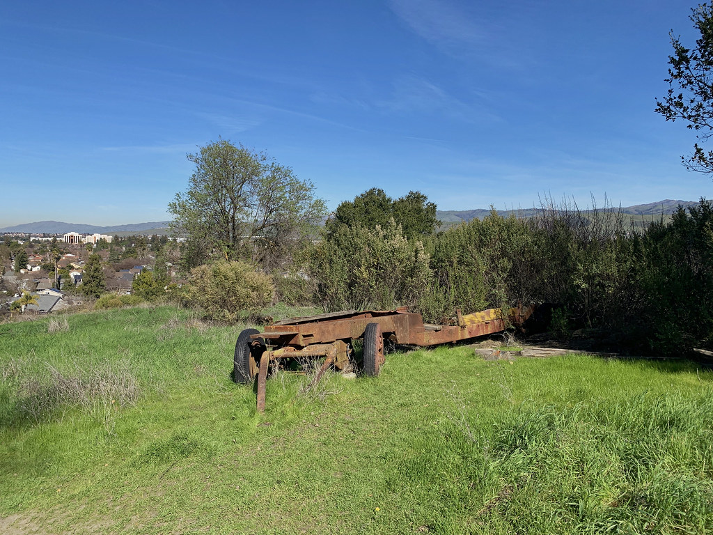 Old Ranch Equipment on Joice Trail