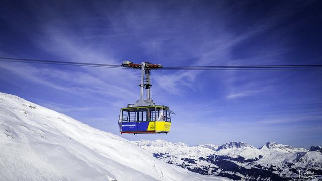 Cable car to Weissfluh - Davos - Graubünden - Switzerland