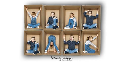 Living in a box - Im Fotostudio mit bilderschlag