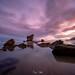 Sunrise at Aguilar Beach in Muros del Nalon