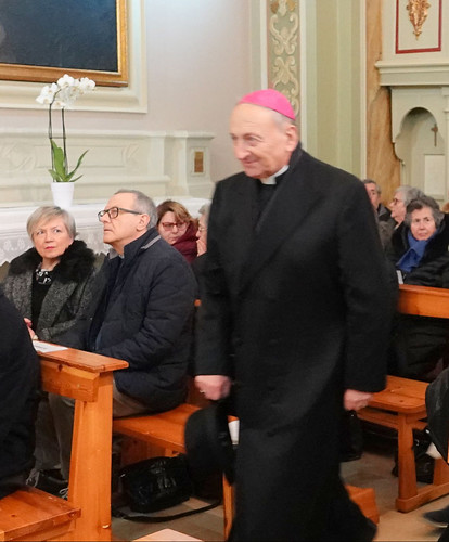 Arrivo vescovo Caculli