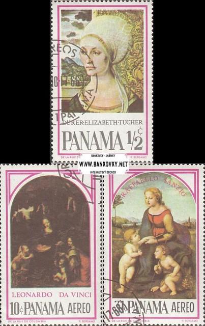 Známky Panama 1966 Slávne maľby
