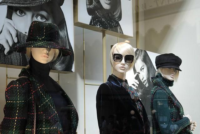 Milan shop windows