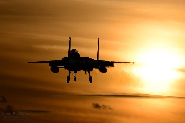 McDonnell Douglas F-15C 84-0010 LN RAF Lakenheath