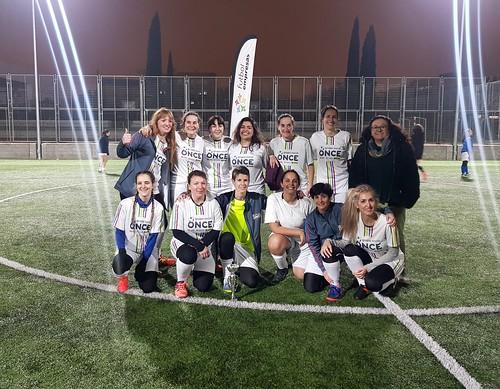 Grupo Social Once, tercer clasificado Segunda División