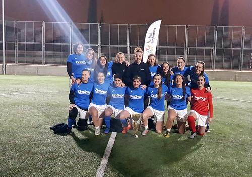 Ontime Féminas, campeón I Torneo Apertura Femenino