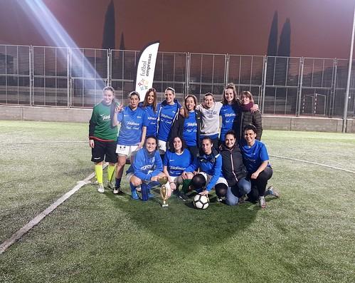 Telefónica, subcampeón I Torneo Apertura Femenino