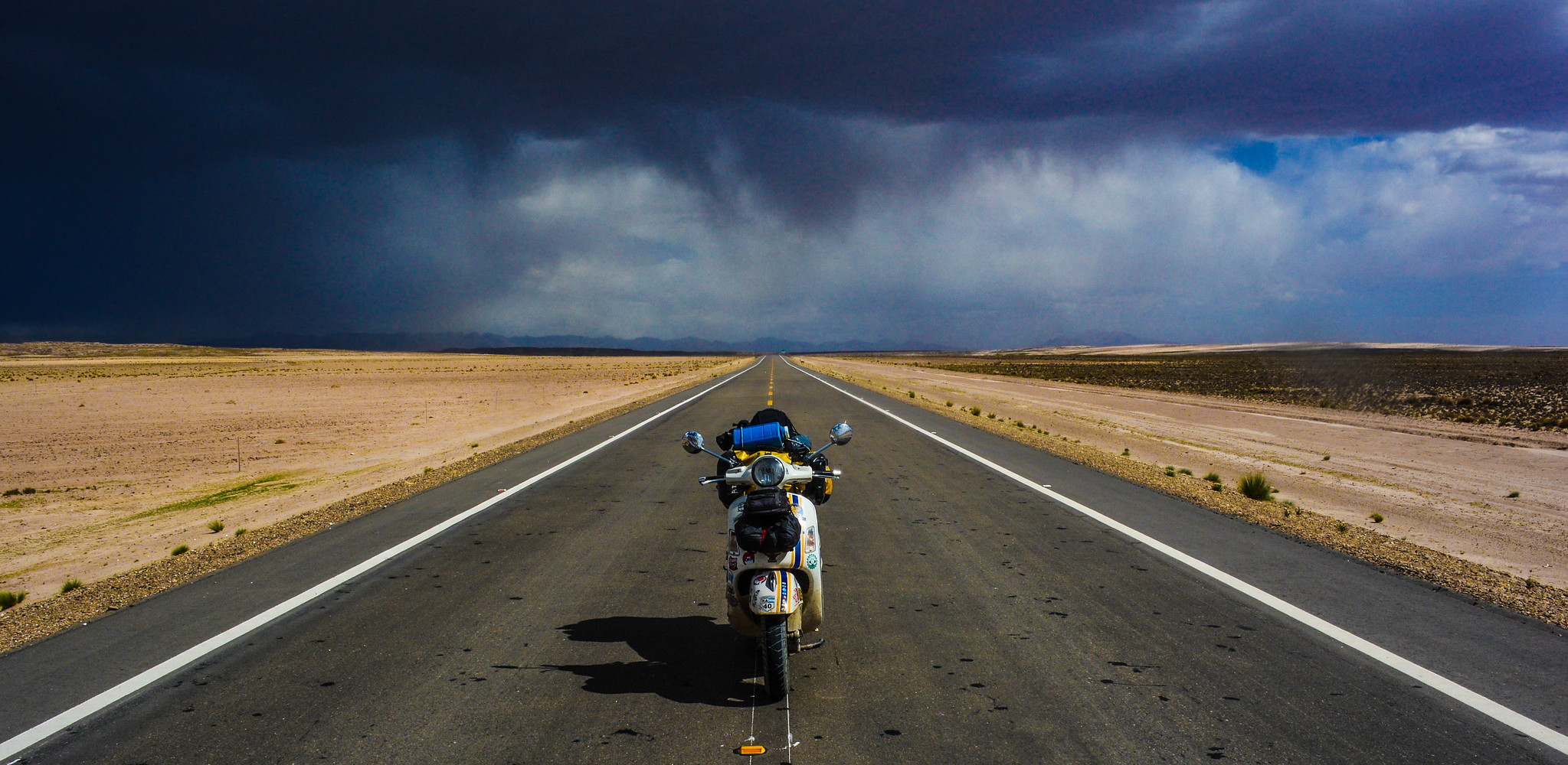 Vespa Road Trip Sudamérica