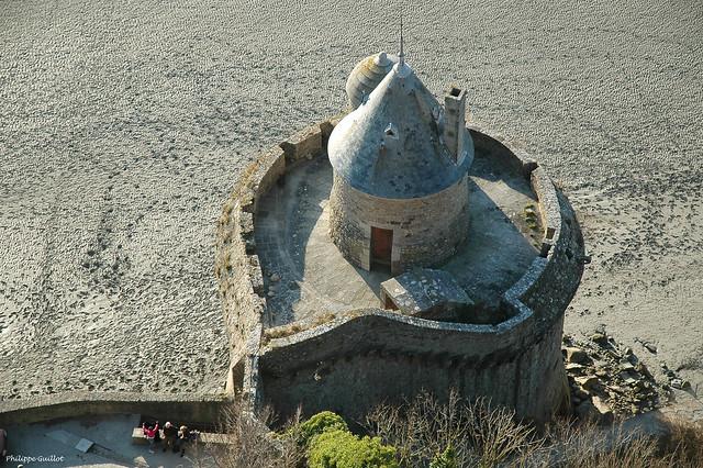 Mont-Saint-Michel : la tour Gabriel