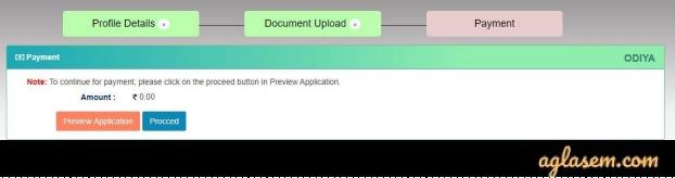 APPSC Arunachal Pradesh Civil Service 2020 Application Fee