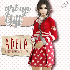 !gO! Adela dress -gift group