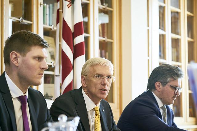 13.02.2020. Ministru prezidents Krišjānis Kariņš vada Nacionālās attīstības padomes sēdi