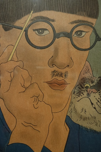 Selfportrait  Fujita Tsuguharu