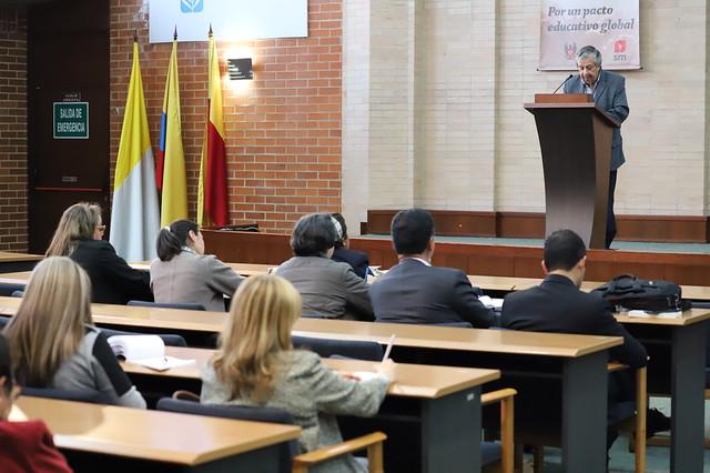 """Foro: """"Por un nuevo Pacto Educativo Global, desafíos para Colombia"""""""